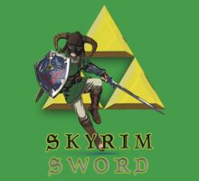The Legend of The Skyrim Sword -- Skyrim/Zelda by uglybyproxy