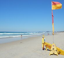 Surf Rescue Broadbeach 19 April 2014 by FangFeatures