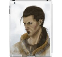 Skyrim Companion~Marcurio2 iPad Case/Skin