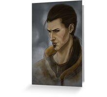 Skyrim Companion~Marcurio2 Greeting Card