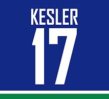 Vancouver Canucks Ryan Kesler Jersey Back Phone Case by RussJericho23