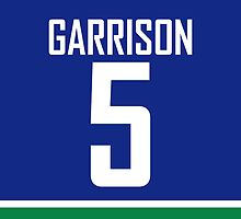 Vancouver Canucks Jason Garrison Jersey Back Phone Case by RussJericho23