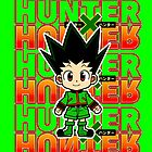 gon the hunter x hunter by yurikakim