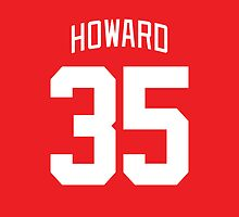 Detroit Red Wings Jimmy Howard Jersey Back Phone Case by Russ Jericho