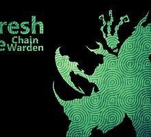 Thresh Chain The Warden by popculturenow