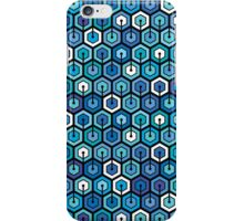 Blue cell iPhone Case/Skin