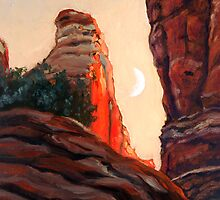 Cathedral Rock Spire by Maurice Morgan II