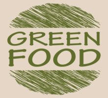 Go Green Food Vegetarian Vegan by mindofpeace