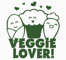 Vegan Veggie Lover Kids Clothes