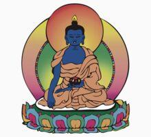 Buddhist Blue Buddha by mindofpeace