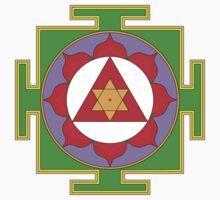 Yantra Lotus Ganesha Symbol by mindofpeace