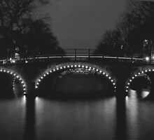 Amsterdam canal long exposure by PotterIancito