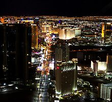 Las Vegas - Aerial View by Honor Kyne