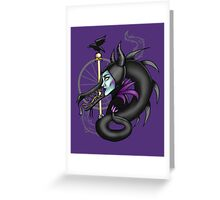 Mistress of All Evil  Greeting Card