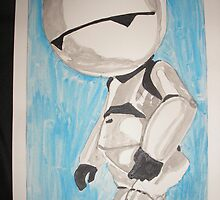 Marvin the Paranoid Android by Colin  Laing
