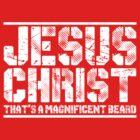 Jesus' Beard by ApostateAwake