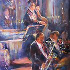 Dance Band - Music Art Gallery by Ballet Dance-Artist