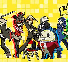 Persona 4 TWEWY style by HatsOffProducts