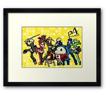 Persona 4 TWEWY style Framed Print