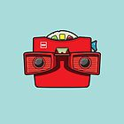#42 Viewmaster by brownjamesdraws
