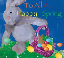 Happy Easter To All And TO All A Happy Spring by Patrick Beamish