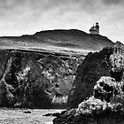 Anacapa Island Lighthouse by damhotpepper