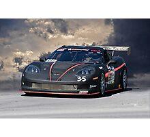 SCCA Corvette GT2 Photographic Print