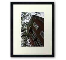 Oregon Historic District - Dayton, Ohio, USA Framed Print