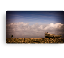 You Could Feel The Sky Canvas Print