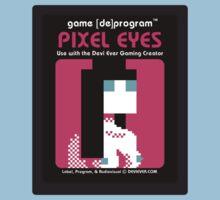 Pixel Eyes Atari Cartridge by Devi Ever
