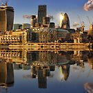 Thames View london by Ian Hufton