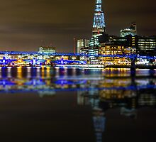 The Shard & London Skyline by Ian Hufton