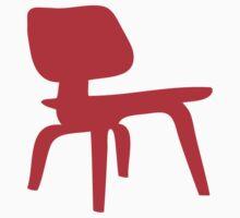 Eames Lounge Chair Wood by greenbirdpress