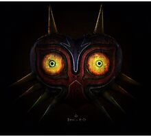 Legends of Zelda Majora's Mask Time's End Photographic Print