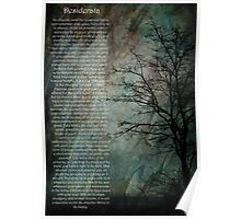 Desiderata Of Happiness - Vintage Art Poster