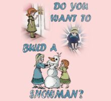Do You Want To Build A Snowman? by marinasinger