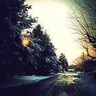 Wintry Road by PiscesAngel17