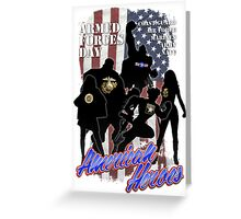 Armed Forces Day - American Heroes Greeting Card