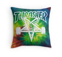 Thrasher Mag. Throw Pillow