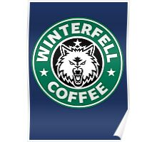 Winterfell Coffee (Starbucks) Poster