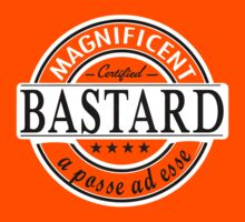 magnificent bastard t-shirt by verde57
