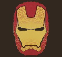 Iron Man's helmet by Angrahius