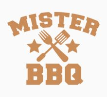 MISTER BBQ Barbecue with fork and flipper by jazzydevil