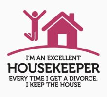 I'm an Excellent Housekeeper by artpolitic