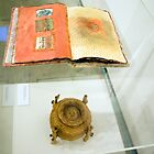 Book of Threads & Belly Bound (Exhibit Display) by Kerryn Madsen-Pietsch