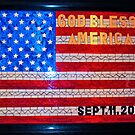 9/11 Stained Glass by Steve Hunter