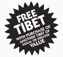Free Tibet! by artpolitic