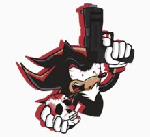 "Shadow the ""Edgehog"" T-shirt by HatsOffProducts"