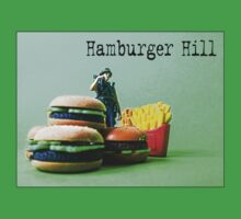 "Hamburger Hill from the series ""Fast Food Turf War"" by Tim Constable by Tim Constable"