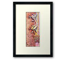 Mosteiro da Batalha. The Stone Art of Master Architects Knight Templars. Framed Print